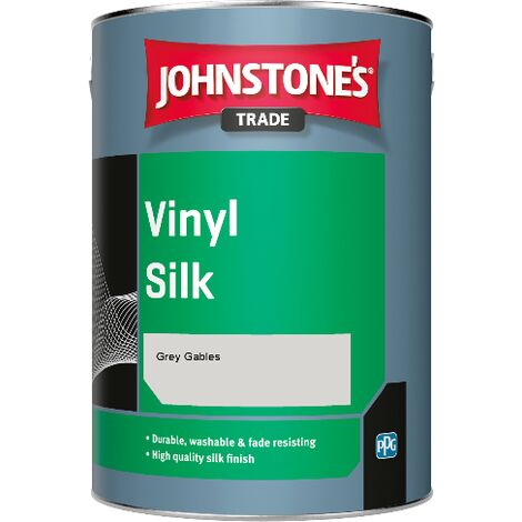 Johnstone's Trade Vinyl Silk - Grey Gables - 1ltr