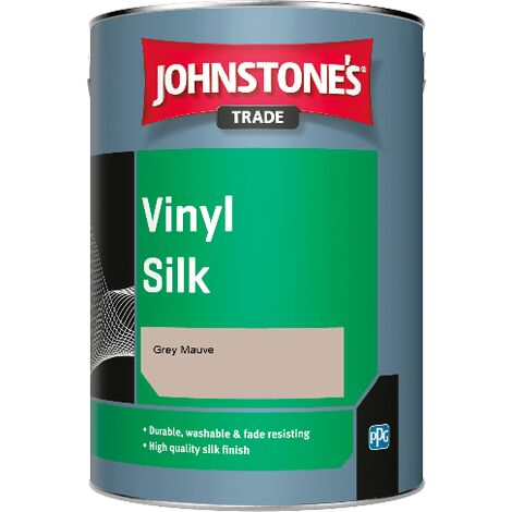 Johnstone's Trade Vinyl Silk - Grey Mauve - 1ltr