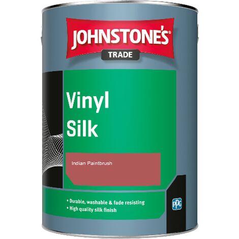 Johnstone's Trade Vinyl Silk - Indian Paintbrush - 1ltr