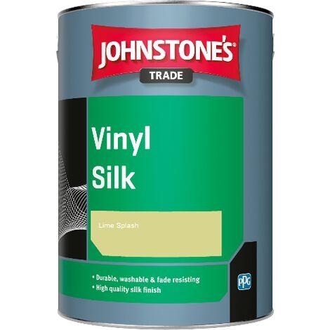 Johnstone's Trade Vinyl Silk - Lime Splash - 1ltr