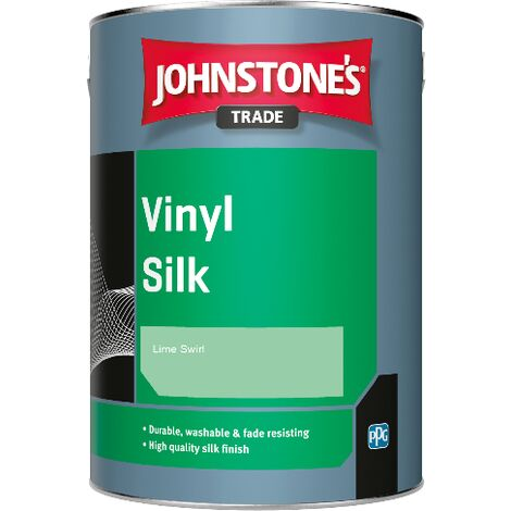 Johnstone's Trade Vinyl Silk - Lime Swirl - 2.5ltr