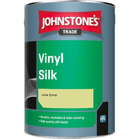Johnstone's Trade Vinyl Silk - Lime Syrup - 1ltr