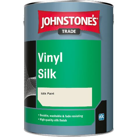 Johnstone's Trade Vinyl Silk - Milk Paint - 1ltr