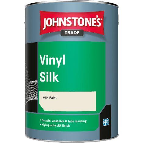 Johnstone's Trade Vinyl Silk - Milk Paint - 2.5ltr