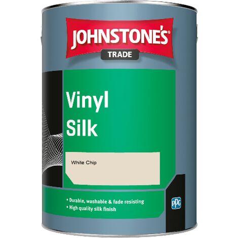 Johnstone's Trade Vinyl Silk - White Chip - 1ltr