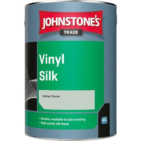 Johnstone's Trade Vinyl Silk - White Clover - 1ltr