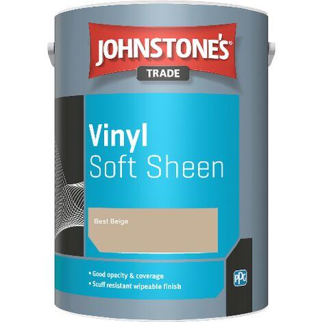 Johnstone's Trade Vinyl Soft Sheen - Best Beige - 2.5ltr