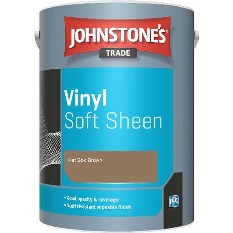 Johnstone's Trade Vinyl Soft Sheen - Hat Box Brown - 5ltr