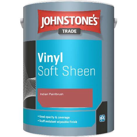 Johnstone's Trade Vinyl Soft Sheen - Indian Paintbrush - 5ltr