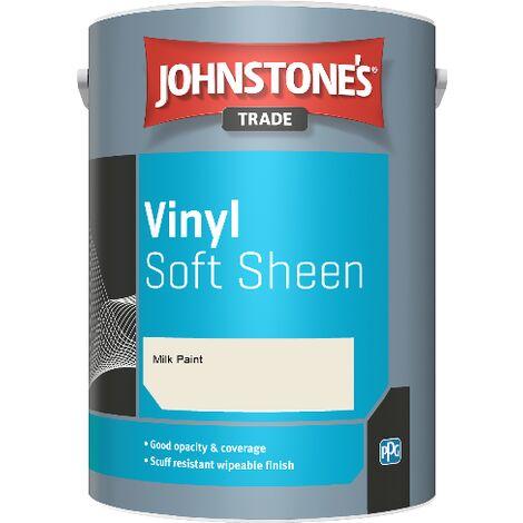 Johnstone's Trade Vinyl Soft Sheen - Milk Paint - 5ltr