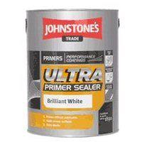 Johnstone's Ultra Primer Sealer Brillant White (select size)