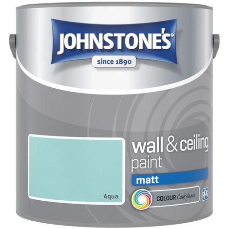 """main image of """"Johnstones Vinyl Matt Emulsion Aqua"""""""
