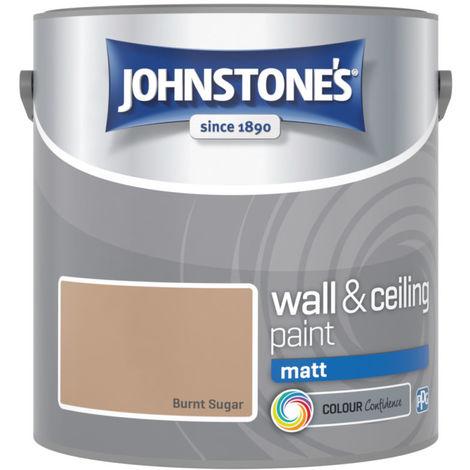 Johnstones Vinyl Matt Emulsion Burnt Sugar 2.5 Litre
