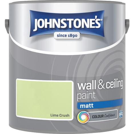 Johnstones Vinyl Matt Emulsion Lime Crush