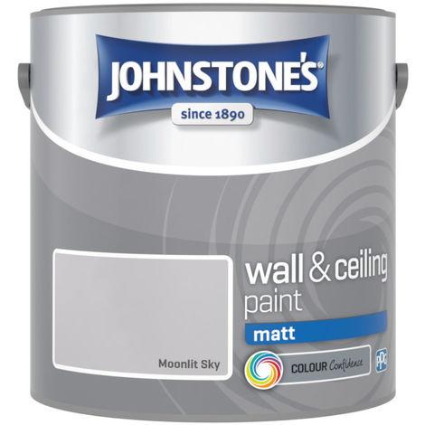 Johnstones Vinyl Matt Emulsion Moonlit Sky 2.5 Litre