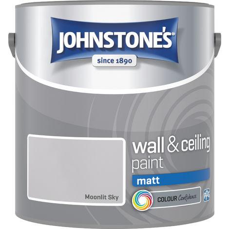 Johnstones Vinyl Matt Emulsion Moonlit Sky