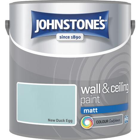 Johnstones Vinyl Matt Emulsion New Duck Egg