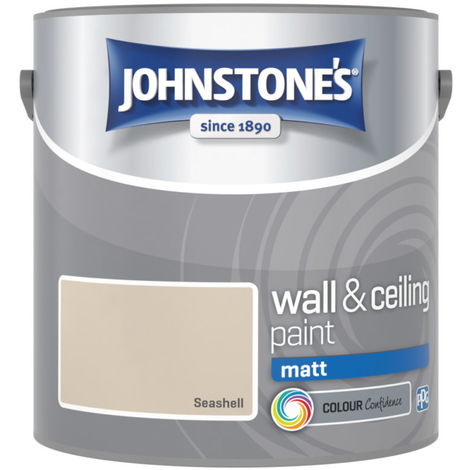 Johnstones Vinyl Matt Emulsion Seashell