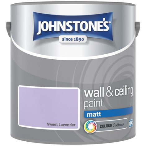 Johnstones Vinyl Matt Emulsion Sweet Lavender 2.5 Litre