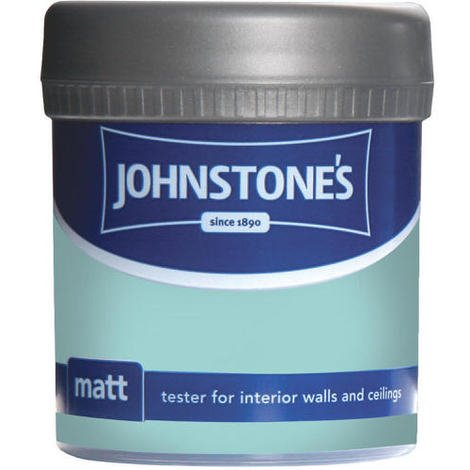 Johnstones Vinyl Matt Emulsion Tester Pot Aqua 75ml