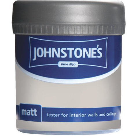 Johnstones Vinyl Matt Emulsion Tester Pot China Clay 75ml