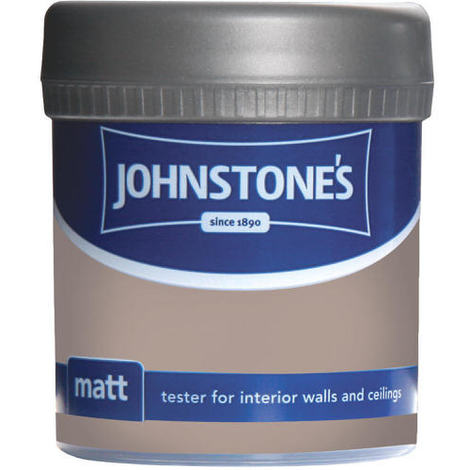 Johnstones Vinyl Matt Emulsion Tester Pot Coffee Cream 75ml