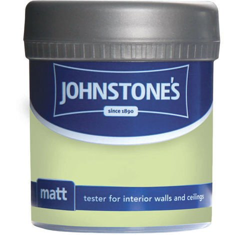 Johnstones Vinyl Matt Emulsion Tester Pot Lime Crush 75ml