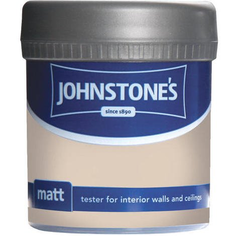 Johnstones Vinyl Matt Emulsion Tester Pot Oatcake 75ml