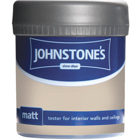 Johnstones Vinyl Matt Emulsion Tester Pot Seashell 75ml
