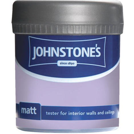 Johnstones Vinyl Matt Emulsion Tester Pot Sweet Lavender 75ml