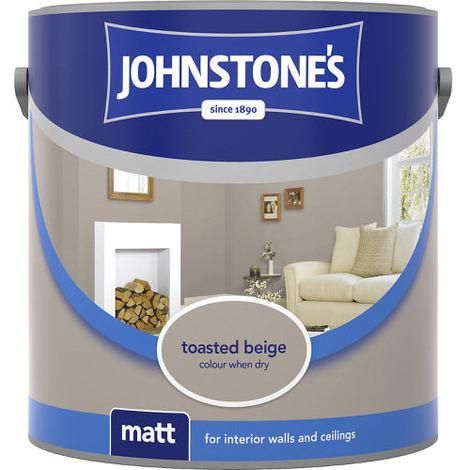 "main image of ""Johnstones Vinyl Matt Emulsion Toasted Beige"""