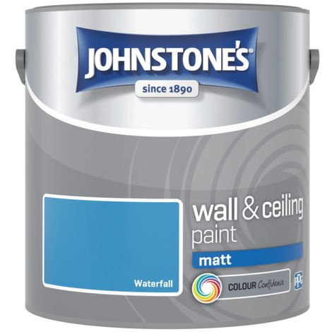 Johnstones Vinyl Matt Emulsion Waterfall 2.5 Litre
