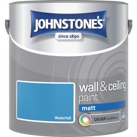 Johnstones Vinyl Matt Emulsion Waterfall 2.5 Litre