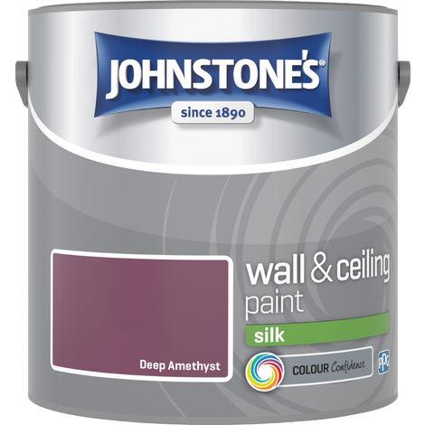 Johnstones Vinyl Silk Emulsion Deep Amethyst 2.5 Litre