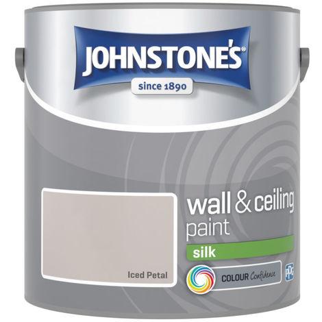 Johnstones Vinyl Silk Emulsion Iced Petal 2.5 Litre