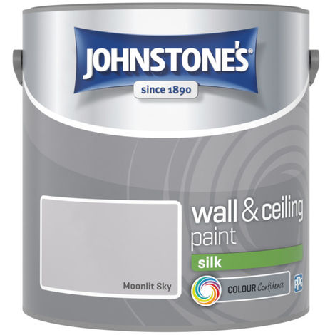 Johnstones Vinyl Silk Emulsion Moonlit Sky 2.5 Litre