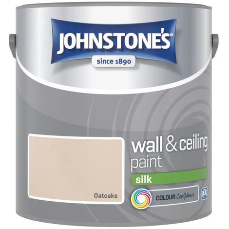 Johnstones Vinyl Silk Emulsion Oatcake 2.5 Litre