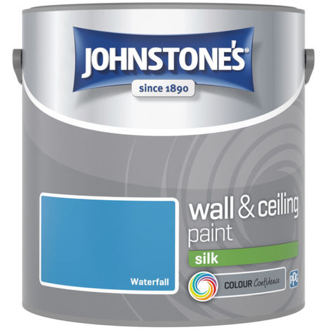 Johnstones Vinyl Silk Emulsion Waterfall 2.5 Litre