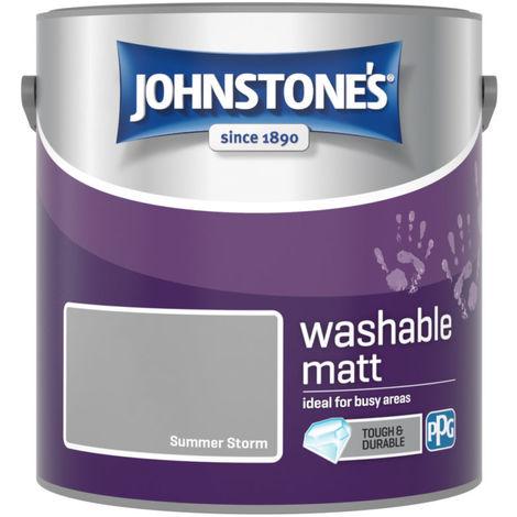 Johnstones Washable Matt Emulsion Summer Storm 2.5 Litre