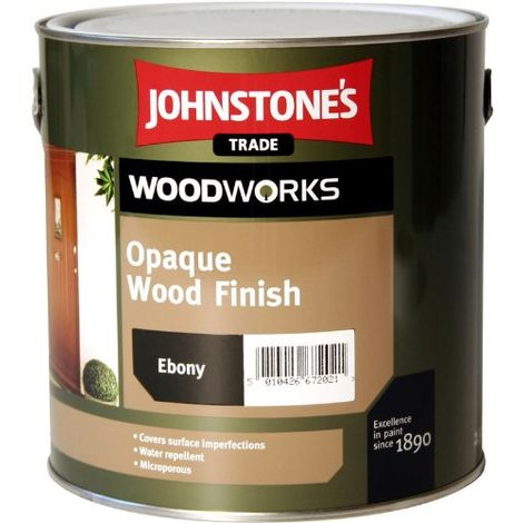 Johnstones Woodworks Opaque Wood Finish Satin White - 2.5 Litres