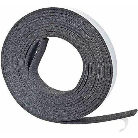 Joint adhésif en mousse haute épaisseur, gris, 17x6.5m x 17mm
