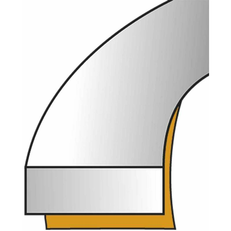 6m joint d/étanch/éit/é fenetre et porte 9 x 7mm brun V profil EPDM