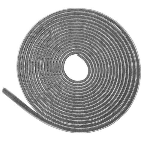 """main image of """"Feutrine adhésive basse grise longueur 11 m, largeur 4,8 mm"""""""
