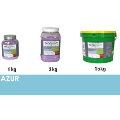 Joint carrelage bleu azur | 3kg (pot)