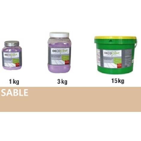Joint carrelage faience beige sable | 3kg (pot)