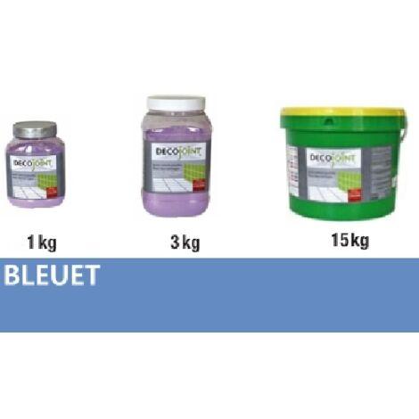 Joint carrelage faience bleuet | 3kg (pot)
