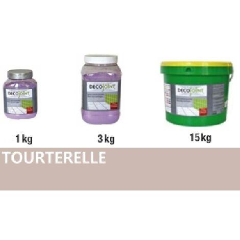 Joint carrelage faience gris beige tourterelle | 3kg (pot)