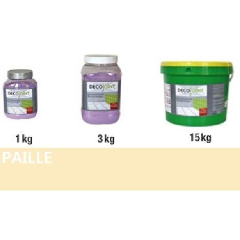 Joint carrelage faience jaune paille | 15kg (seau)
