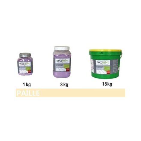 "main image of ""Joint carrelage faience jaune paille | 3kg (pot)"""