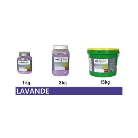Joint carrelage faience lavande | 1kg (pot)